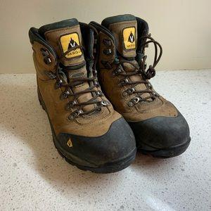 Vasque Steel Toe Leather Work Boots 9.5 Wide